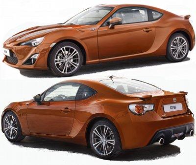 Toyota s'est allié à Subaru pour créer un nouveau petit coupé à 4 places, qui marque un vrai retour de Toyota vers l'essence des véhicules sportifs: puissance, poids contenu, propulsion. Dans ce coupé Toyota GT-86, tout est fait pour maximiser le plaisir de conduite: le centre de gravité est bas, le rapport poids-puissance avantageux, régime moteur maxi élevé (plus de 7000 tr/min).  Son moteur est un moteur boxer de 2,0L à 4 cylindres d'origine Subaru, amélioré avec des technologies Toyota, qui délivre 197 ch à 7000rpm. .